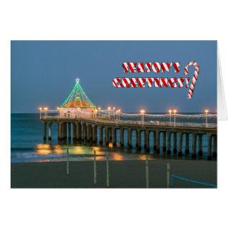 Season's Greetings in Manhattan Beach, CA Card