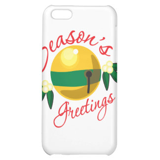 Seasons Greetings Cover For iPhone 5C