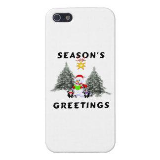 Seasons Greetings iPhone 5/5S Case