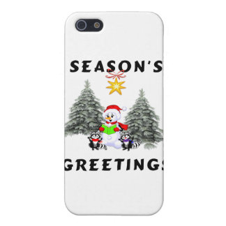Seasons Greetings Case For iPhone 5