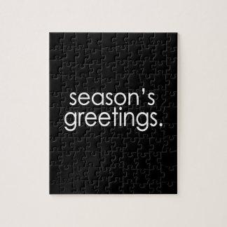 Season's Greetings Jigsaw Puzzle