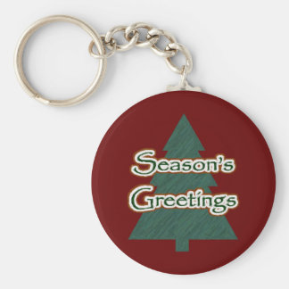 Season's Greetings Key Chain