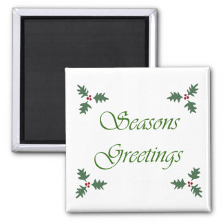 Seasons Greetings Magnet