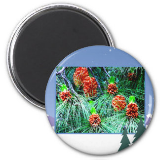 Seasons greetings_ fridge magnets