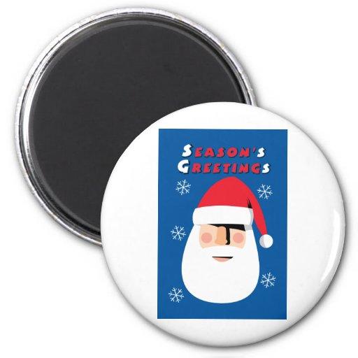 Season's Greetings Refrigerator Magnets