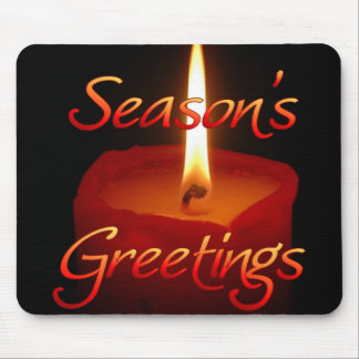 Season's Greetings Mouse Pad