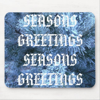 SEASONS GREETINGS MOUSE PAD