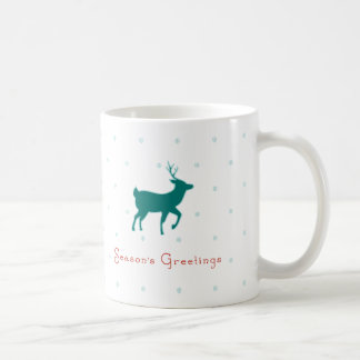 Season's Greetings Basic White Mug