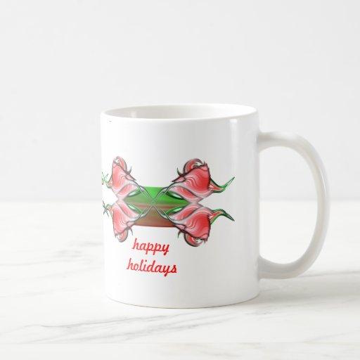 Seasons Greetings Coffee Mugs