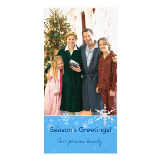 Season's Greetings! Custom Photo Card