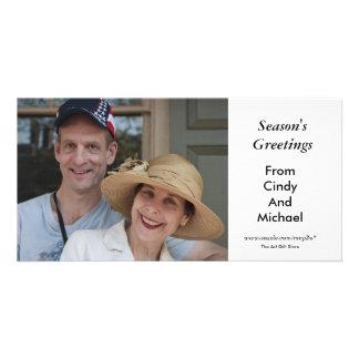 Season's Greetings Customized Photo Card