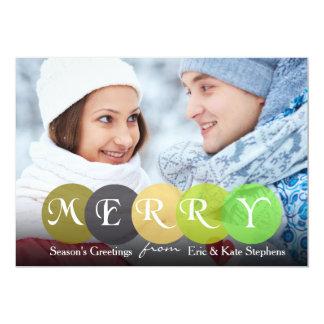 Season's Greetings Photo Card 13 Cm X 18 Cm Invitation Card