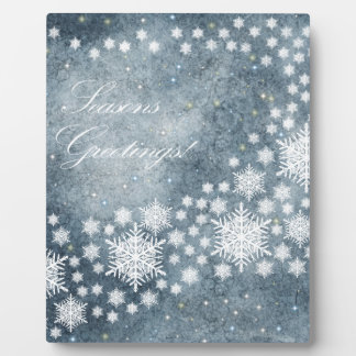 Seasons Greetings Plaque