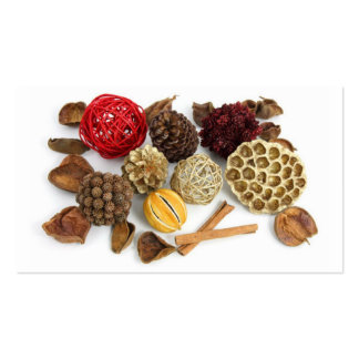 Seasons Greetings Potpourri Thank you Cards Pack Of Standard Business Cards