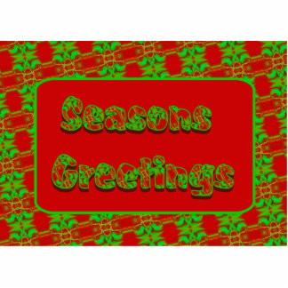 seasons greetings red green cut out