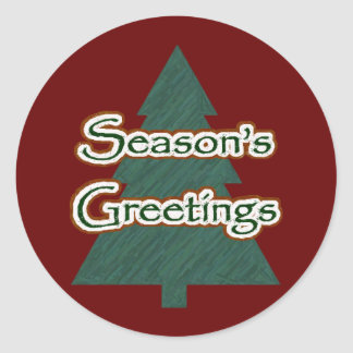 Season's Greetings Sticker