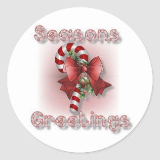 """Seasons Greetings"" Sticker Sheets"