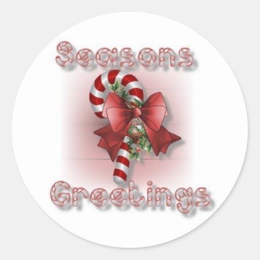 """""""Seasons Greetings"""" Sticker Sheets"""