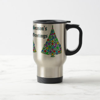 Seasons Greetings Traveler's Mug