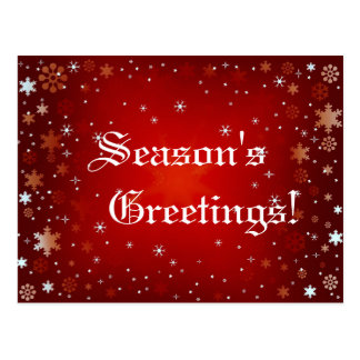 Season's Greetings! v.3 ~ Postcard