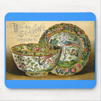 Season's Greetings Vintage Mouse Pad