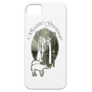 Season's Greetings Wise Men Gifts iPhone 5 Covers