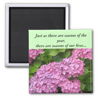 Seasons of our Lives Square Magnet