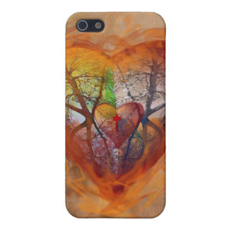Seasons of the Heart iphone iPhone 5 Cases