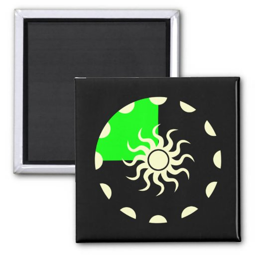 Seasons of the Sun Spring Magnets