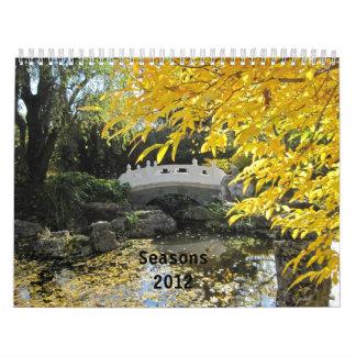 Seasons of the Year Wall Calendars
