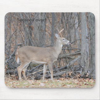 Season's over mouse pad