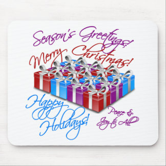 Season's Presents mousepad