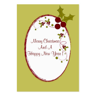 Seasons wishes - Gift tag card Pack Of Chubby Business Cards