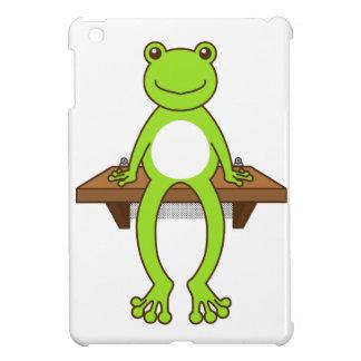 < Seat frog >Sitting frog iPad Mini Cases