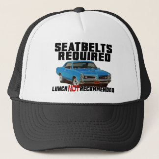 Seatbelts Required for GTO Trucker Hat