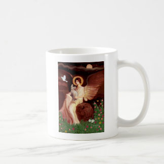 Seated Angel - Sphynx cat Coffee Mug