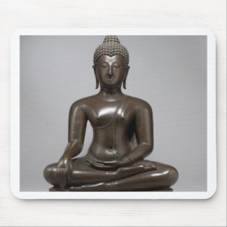 Seated Buddha - 15th century Mouse Pad