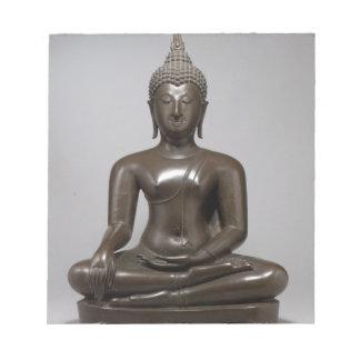 Seated Buddha - 15th century Notepad