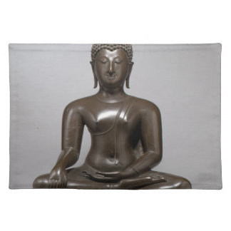 Seated Buddha - 15th century Placemat