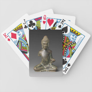 Seated Buddha - Pyu period Bicycle Playing Cards