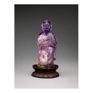 Seated Buddha - Qing dynasty (1644–1911) Postcard