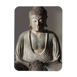 Seated Buddha Rectangular Photo Magnet