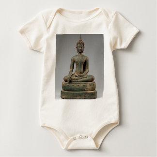 Seated Buddha - Thailand Baby Bodysuit