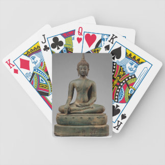Seated Buddha - Thailand Bicycle Playing Cards