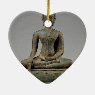 Seated Buddha - Thailand Ceramic Ornament