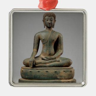Seated Buddha - Thailand Metal Ornament