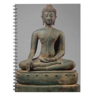 Seated Buddha - Thailand Notebook