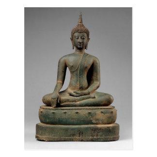 Seated Buddha - Thailand Postcard