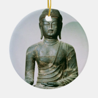 Seated Sakyamuni Buddha from Ch'ungung-ni (iron) Ceramic Ornament
