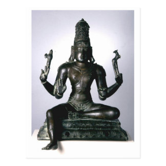 Seated Shiva Postcard